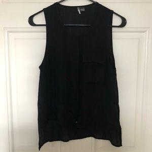 UO Sparkle & Fade Sleeveless Blouse Size XS
